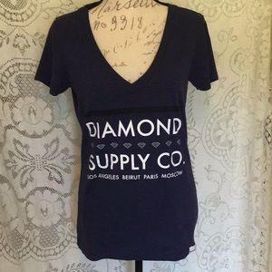 📌EUC, Diamond Supply Co. Tee